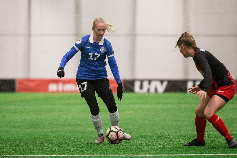 Eesti jalgpallikoondise peatreener muutis koosseisu