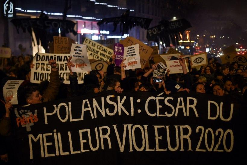 """""""HÄBI!"""" Näitlejannad marssisid Polanski võidu peale saalist välja"""