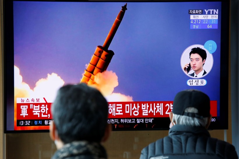 Põhja-Korea korraldas aasta esimese raketikatsetuse