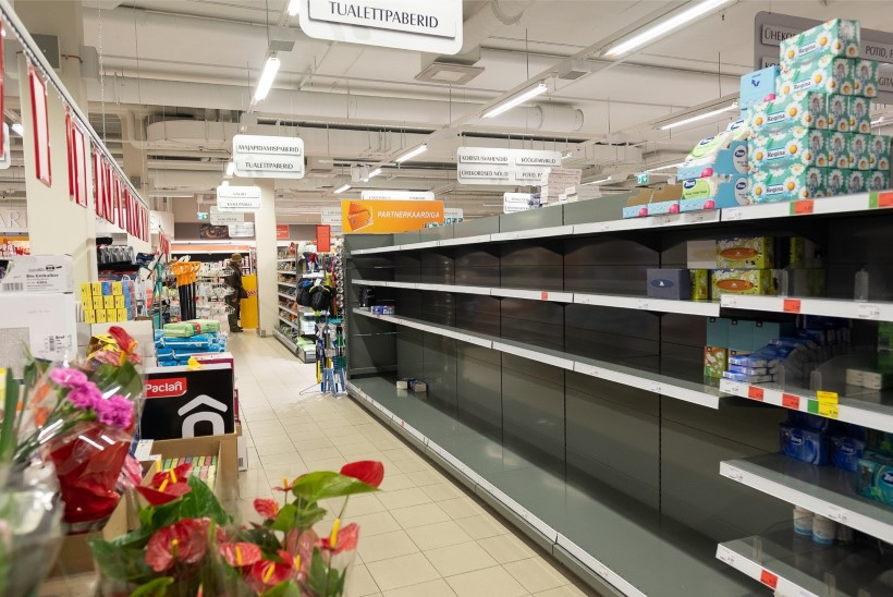 Nõmme Kalju ukrainlane imestab: miks on eestlastel vaja nii palju tualettpaberit ja viina?
