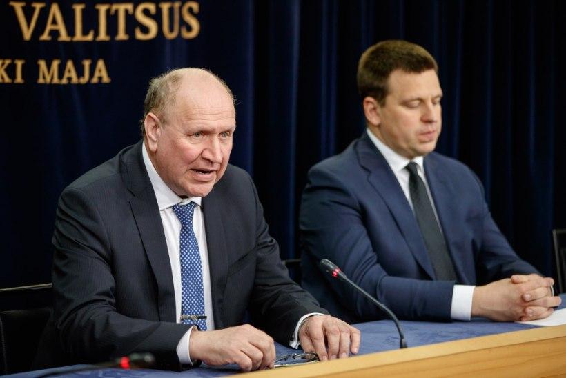 EKRE toetus võrdsustus Keskerakonnaga, Eesti 200 möödus sotsidest