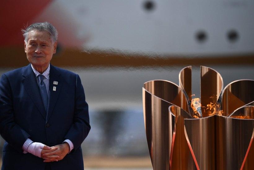 FOTOD | Olümpiatuli jõudis Jaapanisse