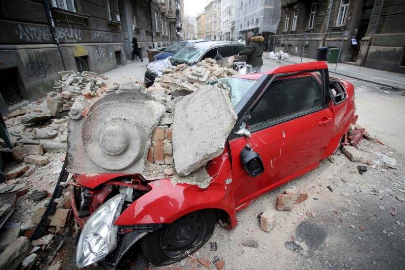 KOROONAKRIISILE LISAKS! Horvaatia pealinna tabas tugev maavärin