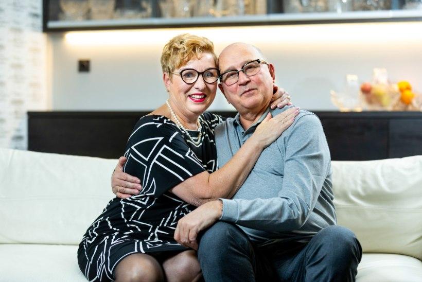 """Merle ja Kalle Klandorf oma abielust: """"See oli armastus esimesest silmapilgust."""""""
