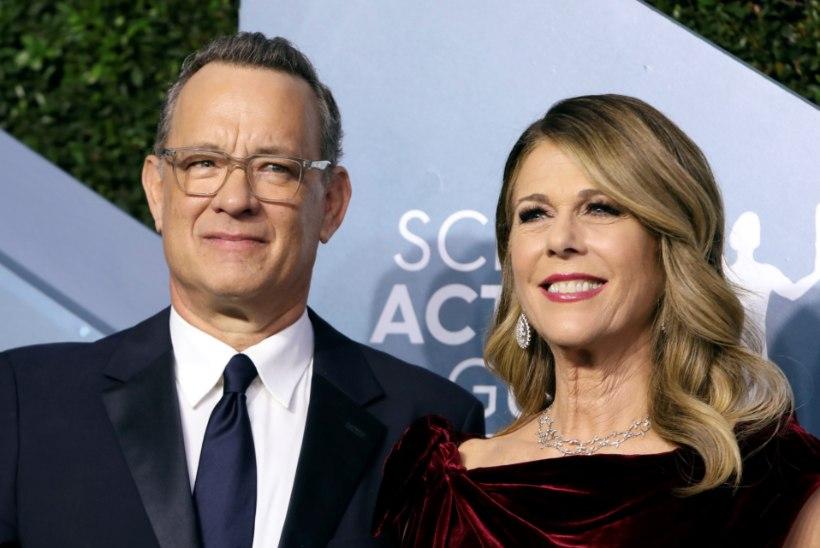 Koroonaviirusesse nakatunud Tom Hanks ja ta naine tunnevad end juba paremini