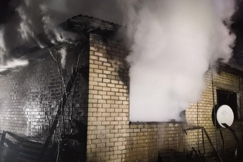 Saaremaal hukkus tulekahjus inimene