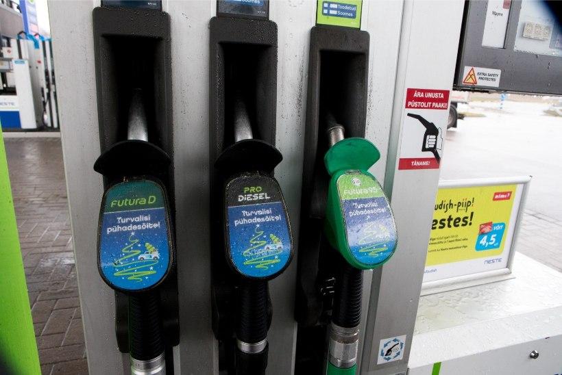 Tanklad selgitavad, miks tuleb Eestis kütte eest kulla hinda maksta
