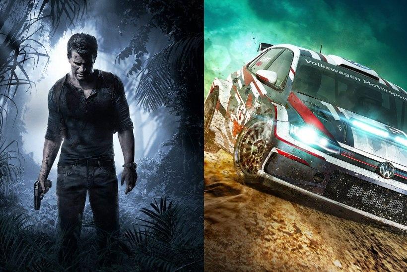 Aprillis saavad PS Plus kasutajad kogeda fantastilist seiklust ning mullust parimat rallimängu