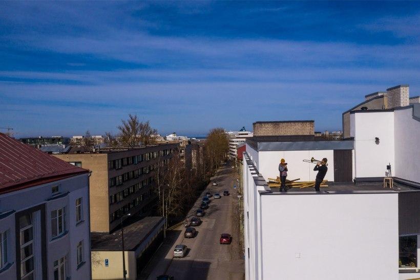 VIDEO JA DROONIFOTOD | Ruslan Trochynskyi andis Kadriorus katusekontserdi: inimesed aplodeerisid, see oli nii vajalik!