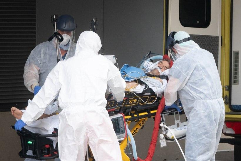 KOROONAVIIRUSE LEVIK: 585 000 nakatunut ja ligi 27 000 surnut. Itaalias lisandus ühe päevaga 919 surnut. Nakkuse sai Briti peaminister