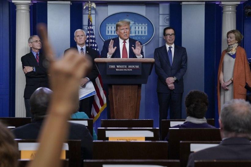 KAKS TRILJONIT! USA üritab koroonapaketiga krahhi ära hoida, Trump optimismiga töökohta säilitada