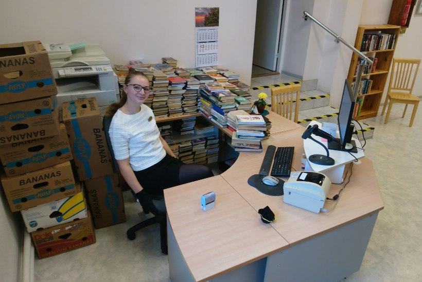 Raamatukoguhoidja Marie Pärkma: kuigi paljud arvavad, et mul on tööl aega lugeda, siis nii see ei ole!