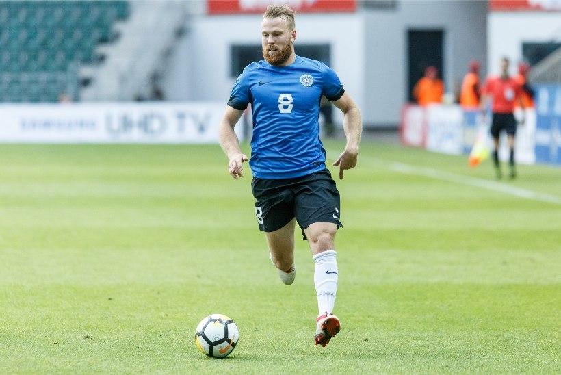 Eesti jalgpallikoondislane kaotas koroonaviiruse tõttu töö