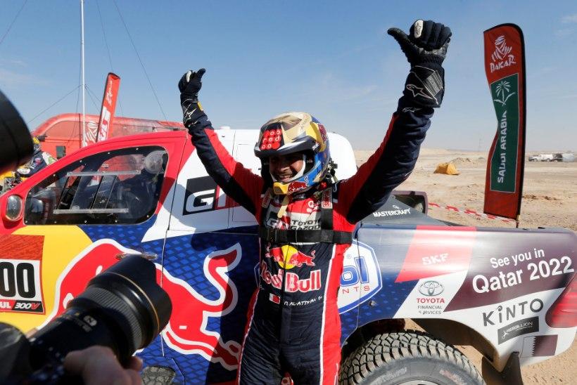 Kolmekordne Dakari ralli tšempion pakkus Tommi Mäkinenile oma teeneid