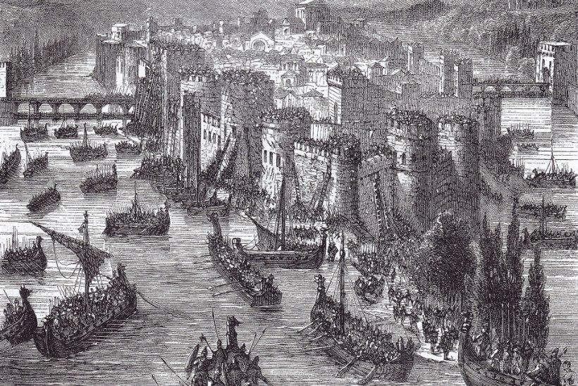 MINEVIKUHETK | 28. märts: suur viikingite sõjavägi rüüstas Pariisi
