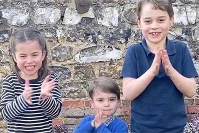 SÜDAMLIK VIDEO   Prints Williami lapsed osalesid tänuaktsioonis