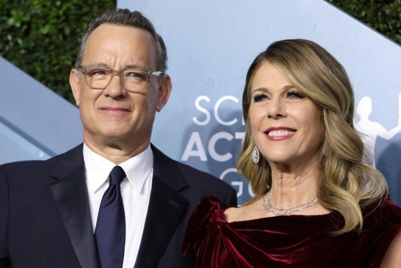 Koroonaviirusega nakatunud Hanks ja ta naine naasid Los Angelesse