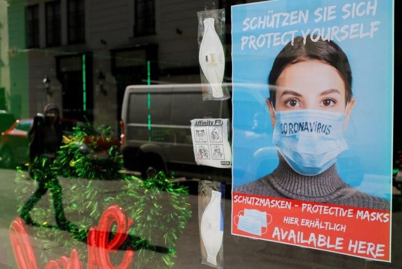 AUSTRIA LIIDUKANTSLER: veel paljud inimesed peavad surema. Toidupoodi minnes muutub näomask kohustuslikuks