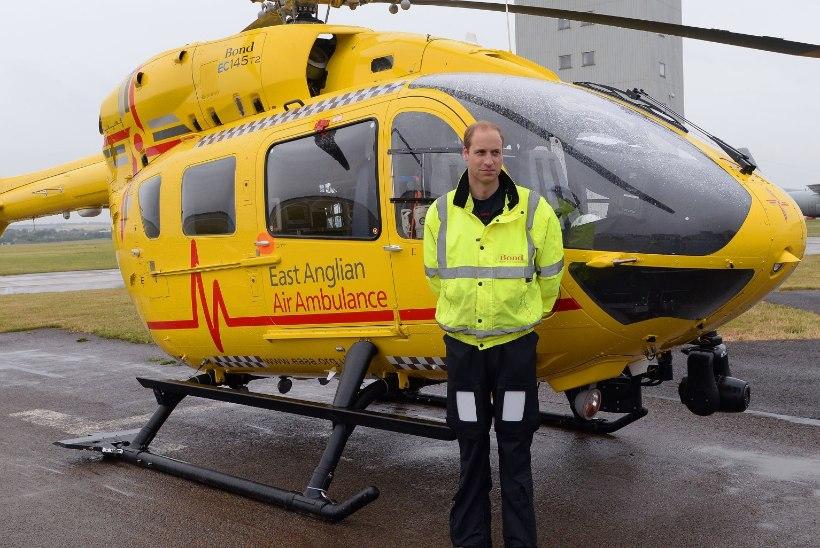 Prints William tahab koroonapatsientide abistamiseks päästeteenistusse naasta