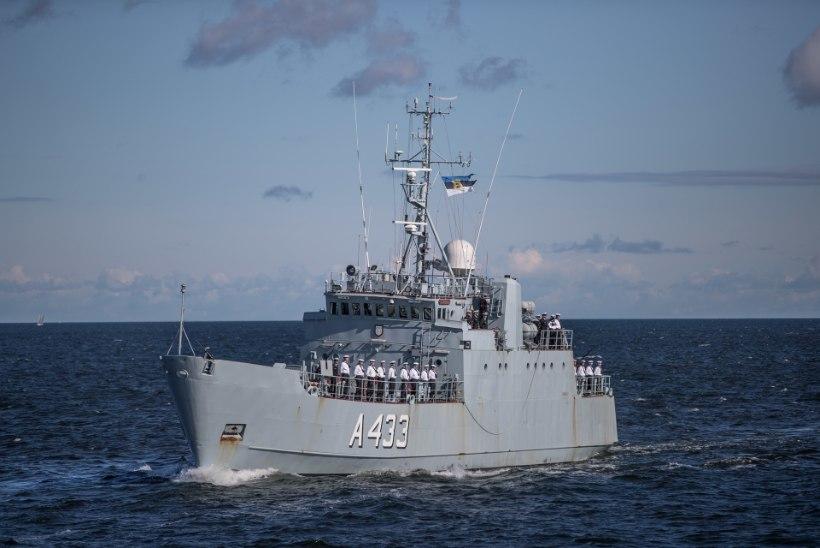"""KURIOOSNE KORRUPTSIOONILUGU: mereväest """"kõrvale pandud"""" laevade varuosad müüdi mereväele tagasi"""