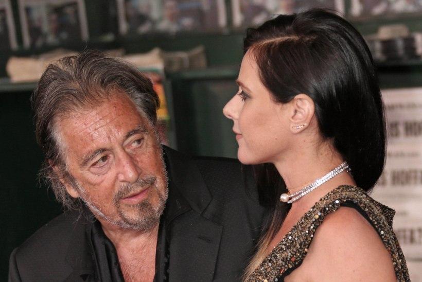 Noor pruut hülgas Al Pacino: ta oli liiga vana ja liiga kitsi