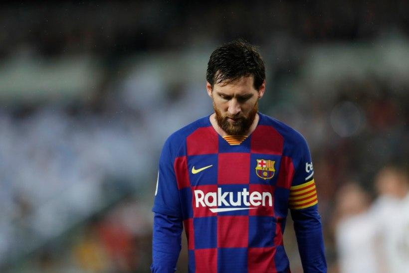 Hispaania väljaanne: Lionel Messi on terve hooaja mänginud vigastusega