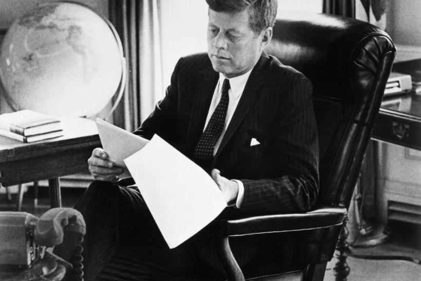 Tõnis Erilaiu lehesaba | Kuidas John F. Kennedy eestlastele kirjutas