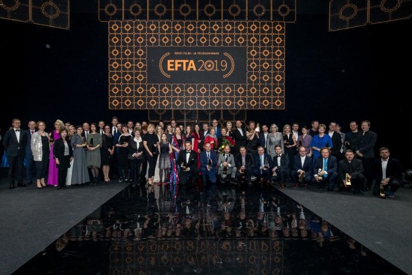 Eesti filmi- ja teleauhindade konkursile esitati kokku 213 kandidaati