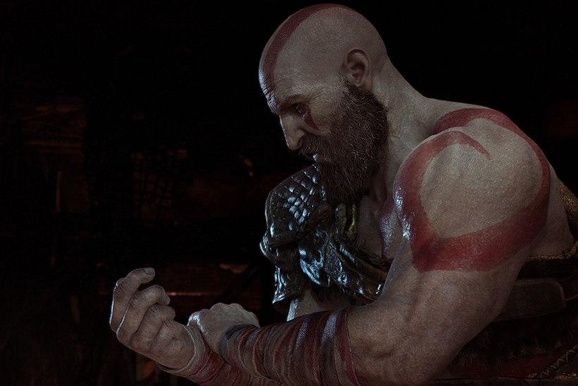 LUSTAKAS VIDEO: alistatud kurjam näitab sõjajumal Kratosele kulisside taga keskmist näppu