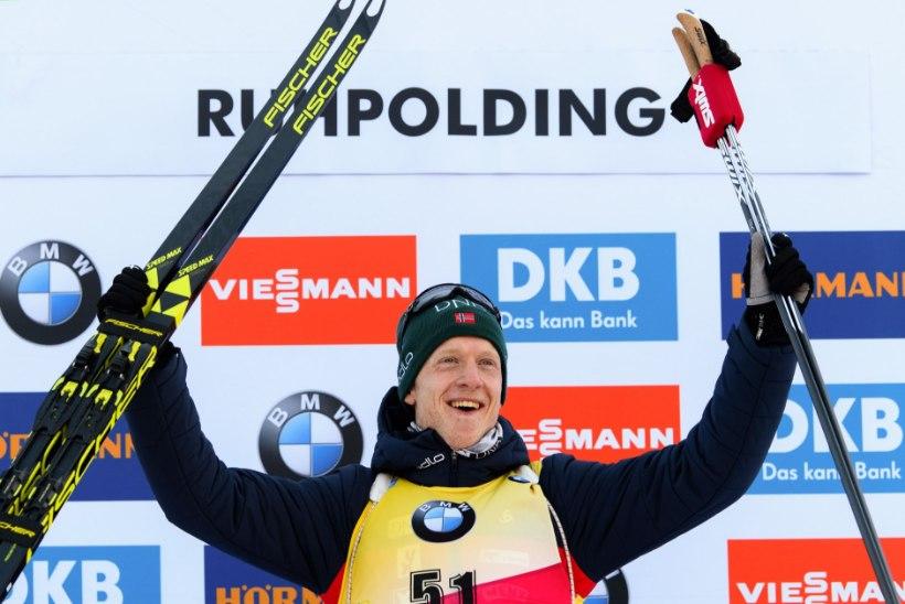 KINDEL MEES: Nove Mesto MK-etapil triumfeeris Johannes Thingnes Bö