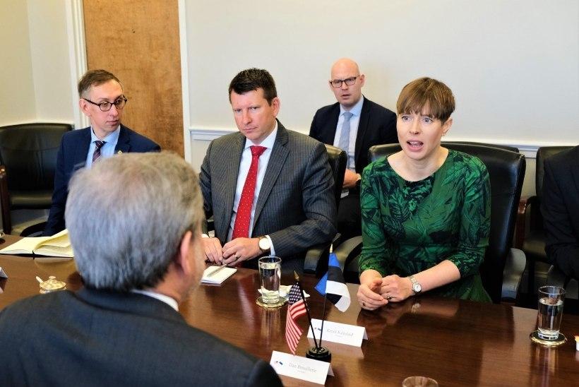 Kaljulaidi, USA asepresidendi ja välisministri osalusega foorumil tuvastati koroonaviirus