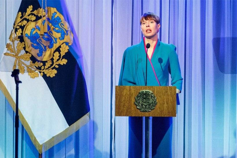 Ettevaatusabinõu: välisreisilt naasnud Kaljulaid ei osalenud Eesti Kongressi aastapäeval