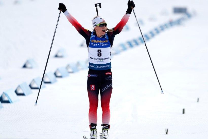 Ühisstardiga sõidu võitis Eckhoff suure eduga, Regina Oja lõpetas 28. kohal