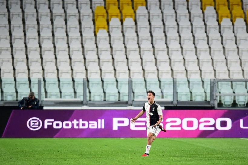 EUROVUTT | Juventus alistas tühjade tribüünide ees Interi, Real sai kolmanda kaotuse