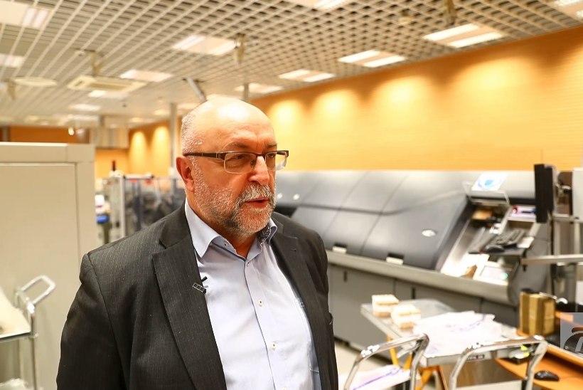 ÕL VIDEO   Eesti Panga agar masin hävitab mõnes kuus üle miljoni rahatähe!