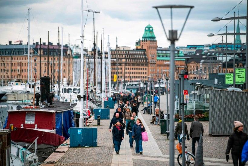 """Stockholmis elav eestlanna: """"Südames loodan, et Rootsi valitud tee on õige."""""""