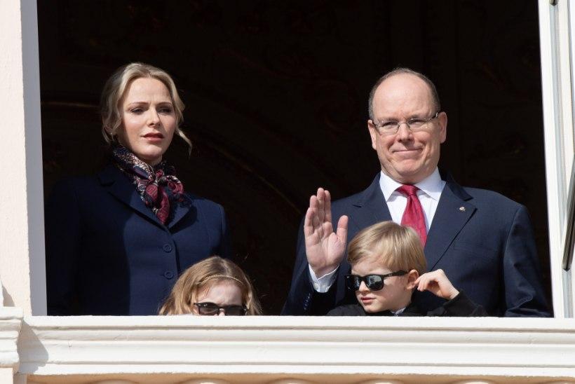 Koroonaviirusega nakatunud Monaco vürst väljus isolatsioonist