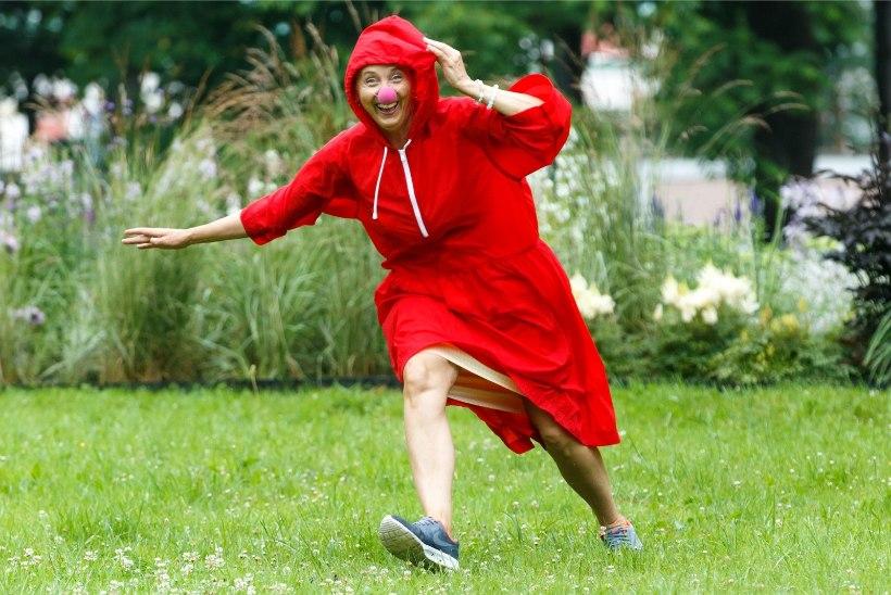 Tsirkusekloun Aita Vaher: minu nooruslikkuse saladus on väga hea mees