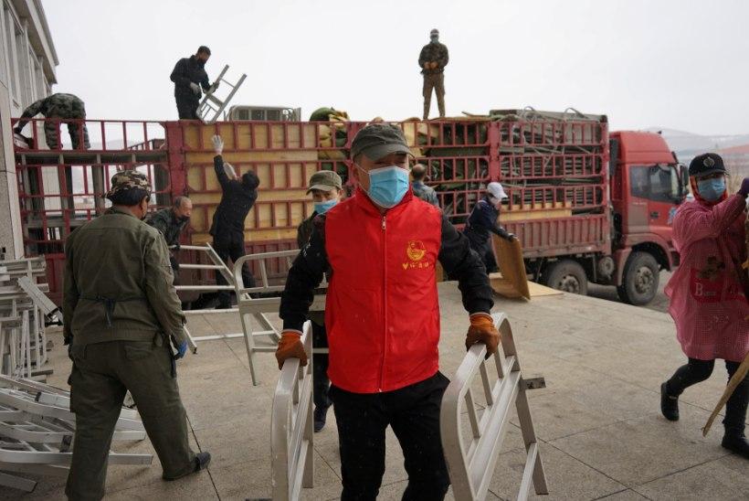 KOROONAVIIRUS MAAILMAS: üle 1,86 miljoni diagnoositud nakatunu, 115 000 surma ja 434 000 tervenenut. Hiinas on uute juhtumite arv taas tõusuteel