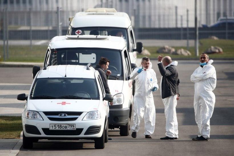 VIDEO | PANDEEMIA? Moskva ummistus kiirabiautodest