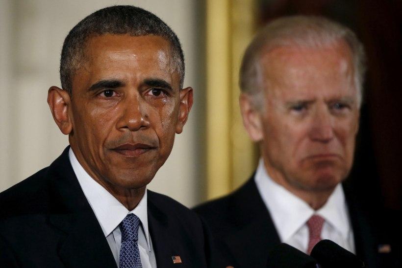 ÜHESKOOS TRUMPI VASTU: Obama annab oma õnnistuse Joe Bidenile
