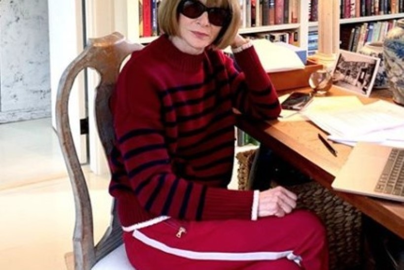 USKUMATU: isegi Vogue'i peatoimetaja Anna Wintour kannab nüüdsel ajal dressipükse!