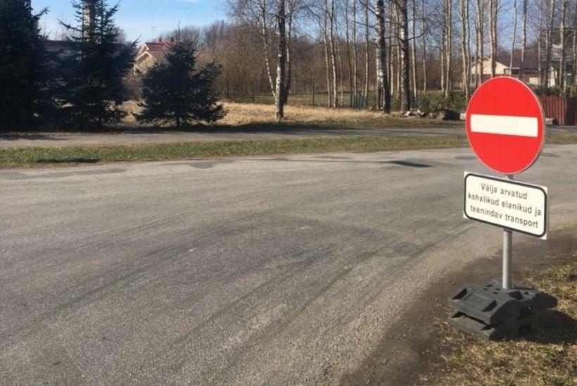 Õiguskantsler lõpetas riigiteede ebaseadusliku sulgemise