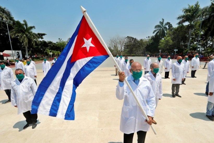 REVOLUTSIOONILISED ARSTID AITAVAD! Kommunistlik Kuuba tahab maailma koroonaviirusest päästa