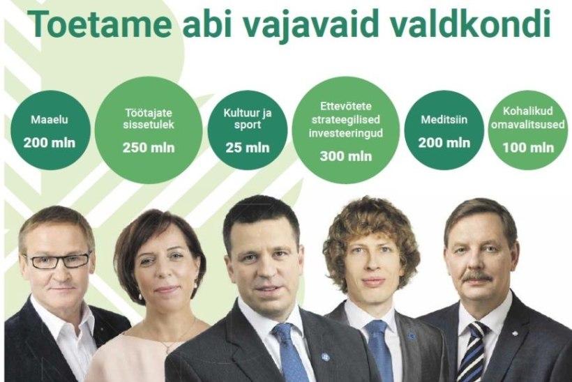 Jüri Ratas palus Kesknädalas ilmunud reklaami pärast vabandust ja käskis lehe müügilt ära korjata