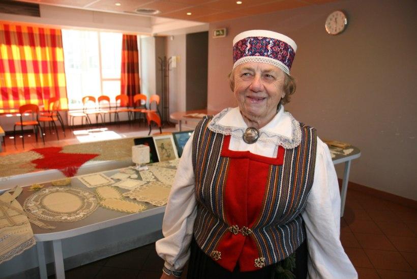 """93aastane Ljuba Keskküla: """"Käsitöö pakub mulle rasketel aegadel suurt lohutust!"""""""