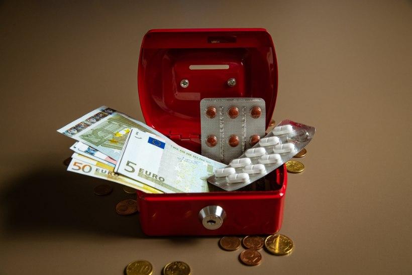 Ravimiäri kitsaskohad röövivad inimeste taskust miljoneid eurosid