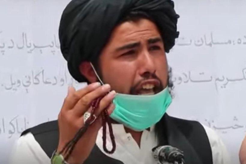 VIDEO   KOROONA EHMATAB ISLAMISTE: Taliban jagab rahvale kaitsemaske