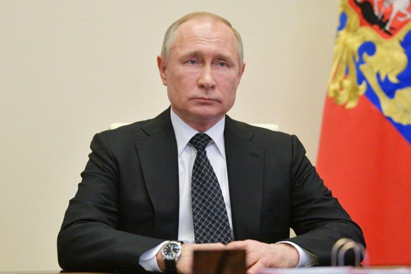 Vladimir Putin kinnitas, et Venemaa lükkab võidupüha paraadi edasi