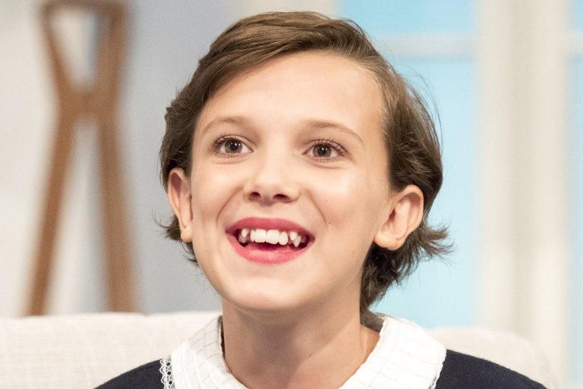 16aastane teletäht demonstreeris uusi hambaid